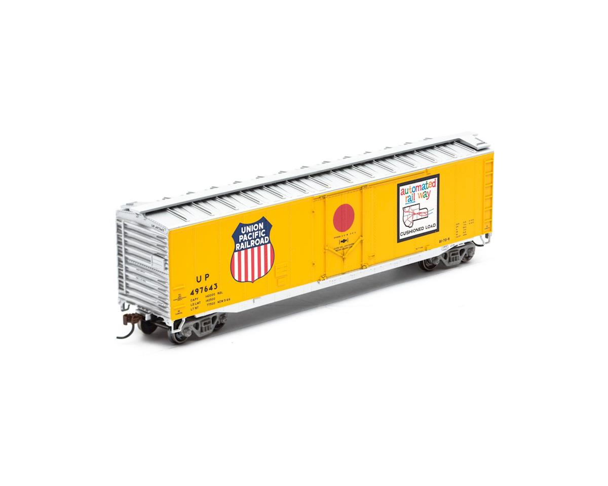 Roundhouse HO 50' Plug Door Box, UP #497643