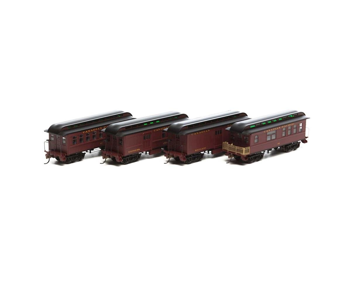 Roundhouse HO RTR 34' Old Time Overton Pass Set, CPR (4)