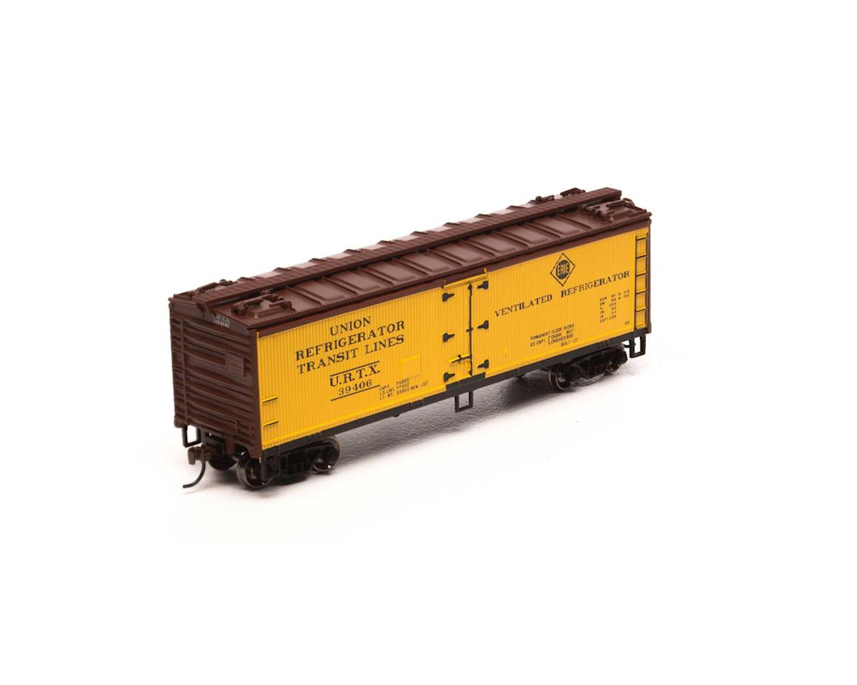 HO 40' Wood Reefer, Erie #URTX 39406 by Roundhouse