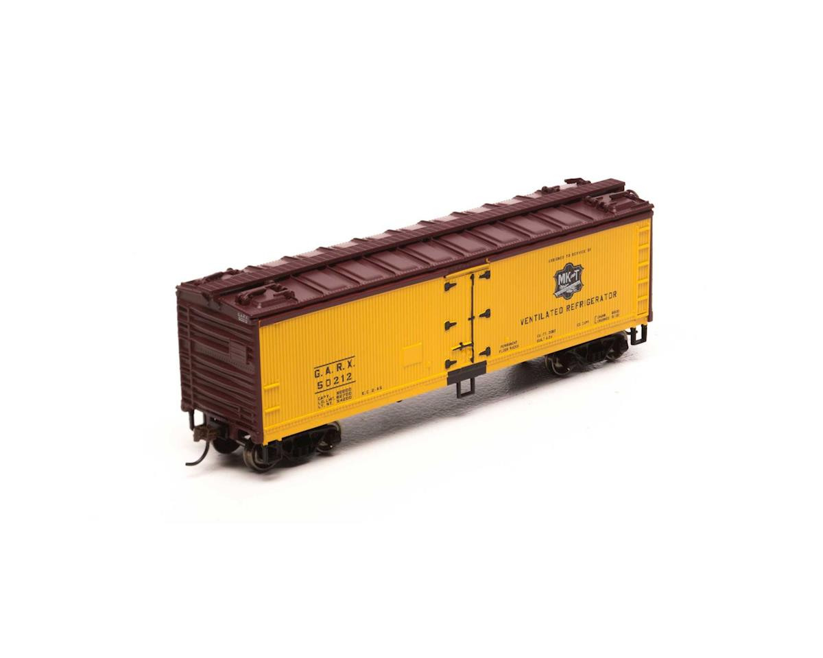 HO 40' Wood Reefer, MKT #GARX 50212 by Roundhouse
