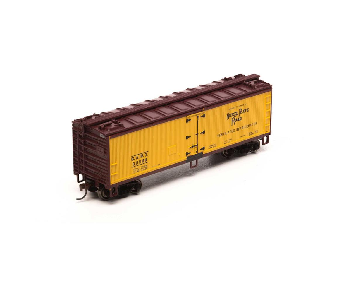 HO 40' Wood Reefer, NKP #GARX 50508 by Roundhouse