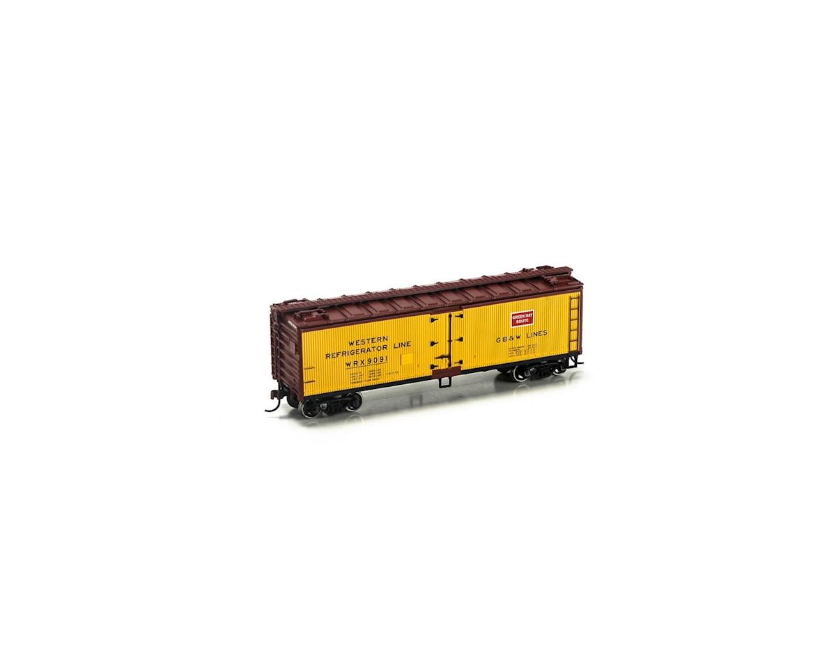 Roundhouse HO 40' Wood Reefer, GB&W #9091