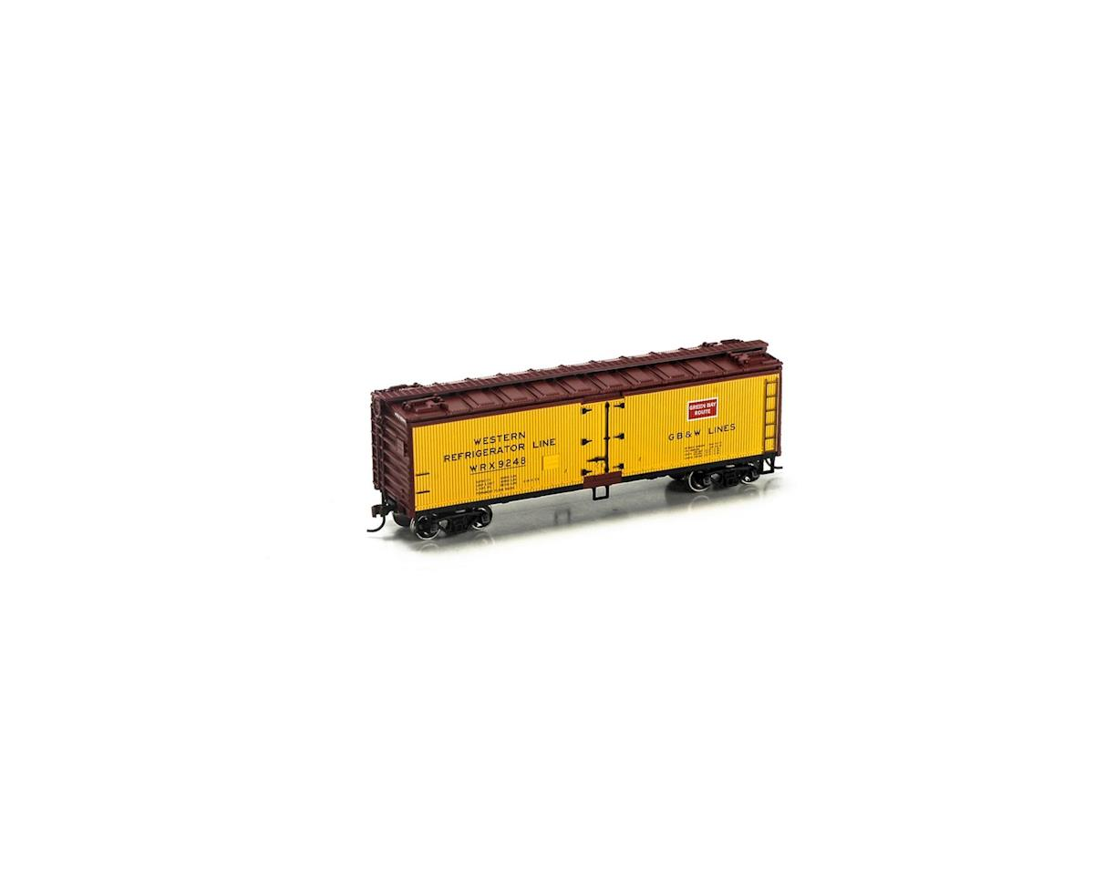 Roundhouse HO 40' Wood Reefer, GB&W #9248