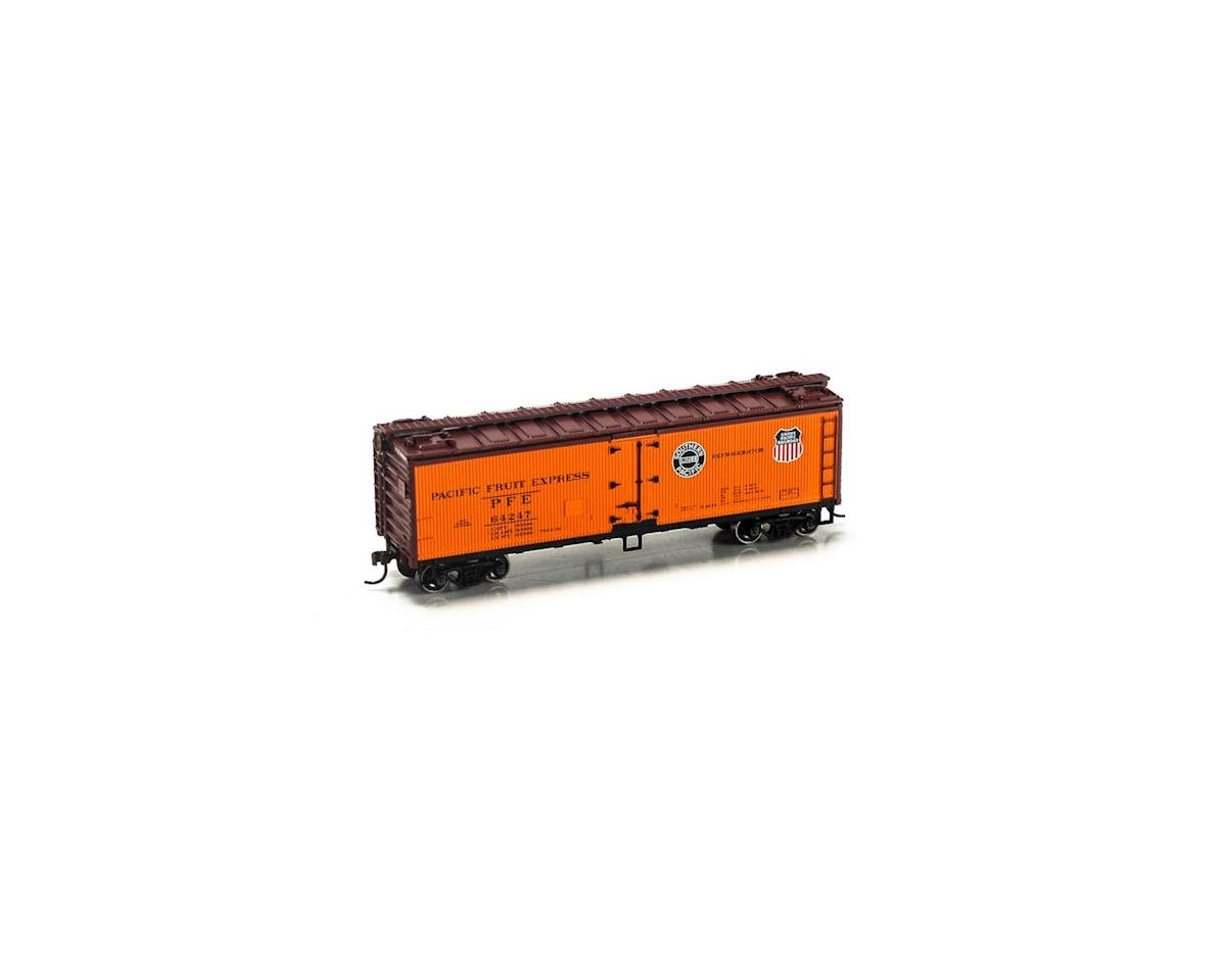 Roundhouse HO 40' Wood Reefer, PFE #64247