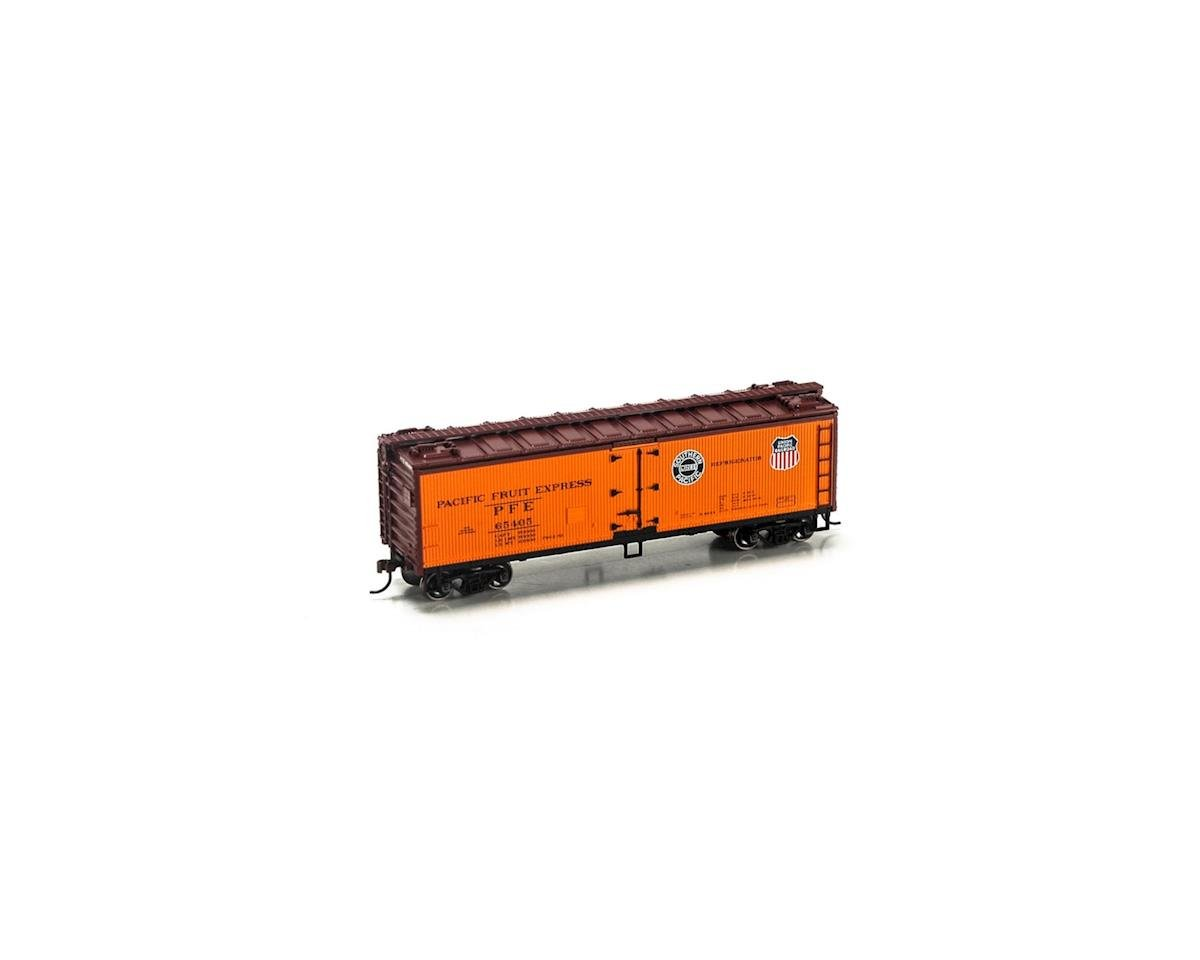Roundhouse HO 40' Wood Reefer, PFE #65405