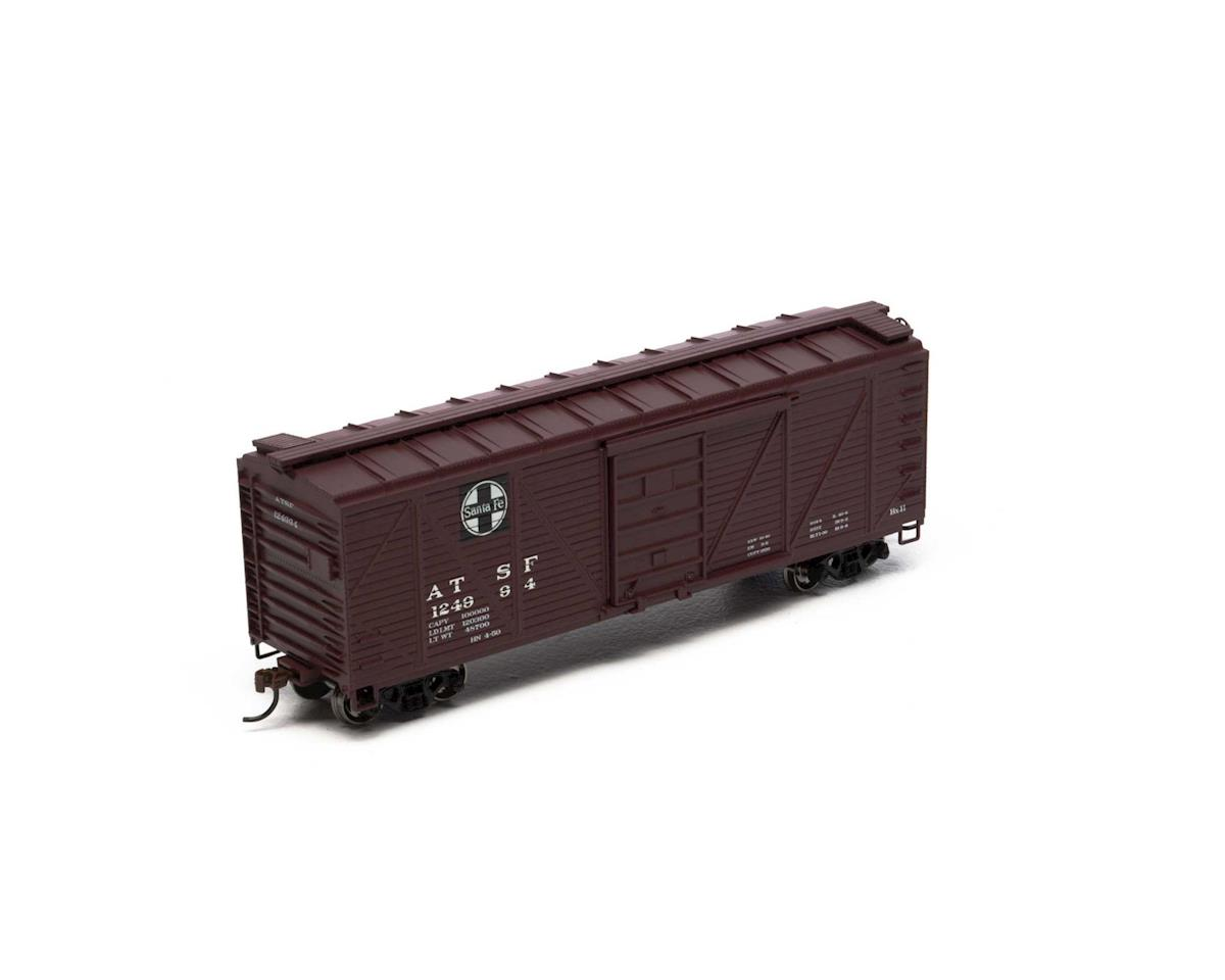 Roundhouse HO 40' Single Sheathed Box, SF #124994
