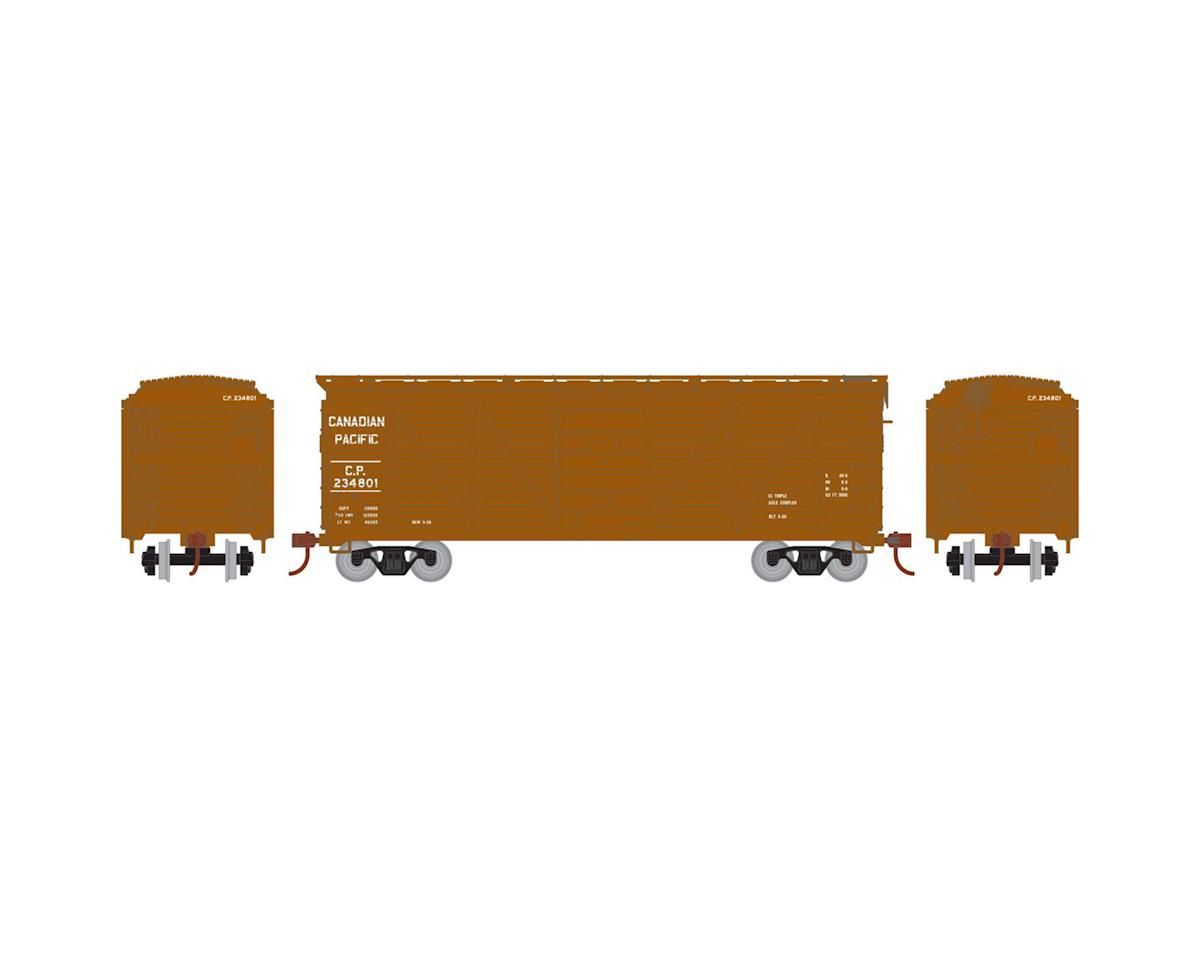 Roundhouse HO 40' Single Sheathed Box, CPR #234801