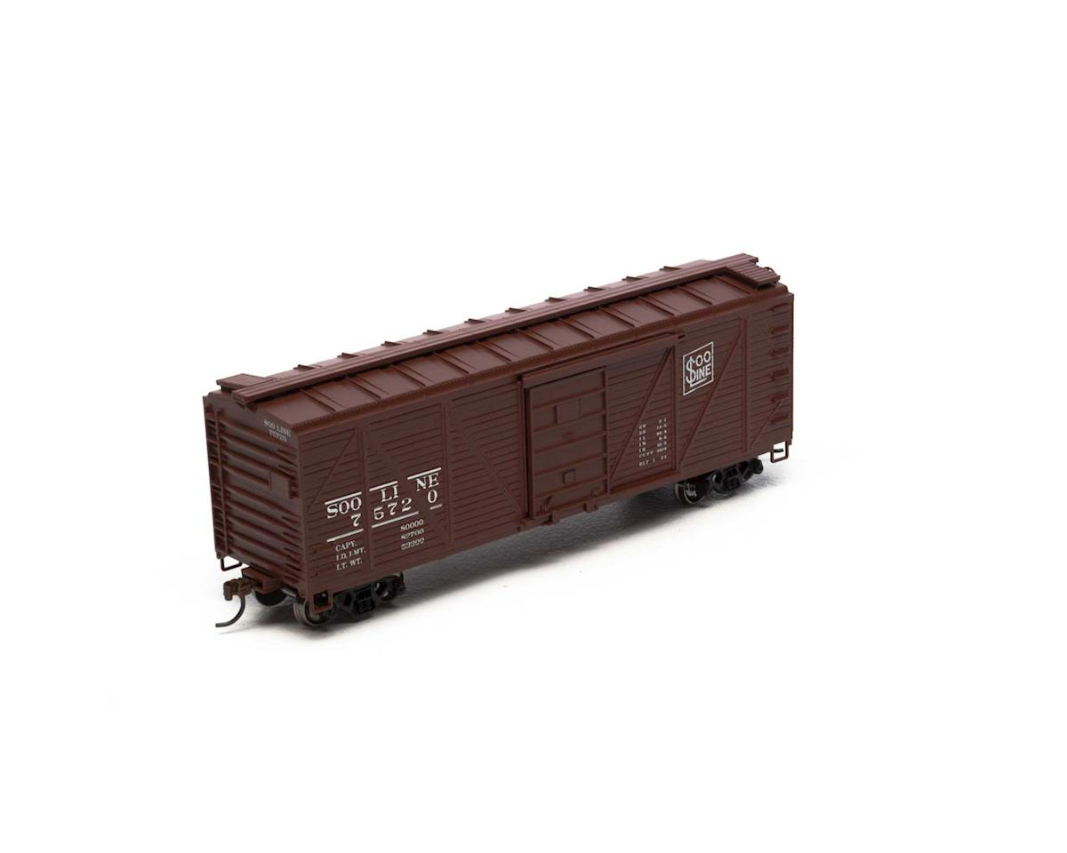 Roundhouse HO 40' Single Sheathed Box, SOO #75720