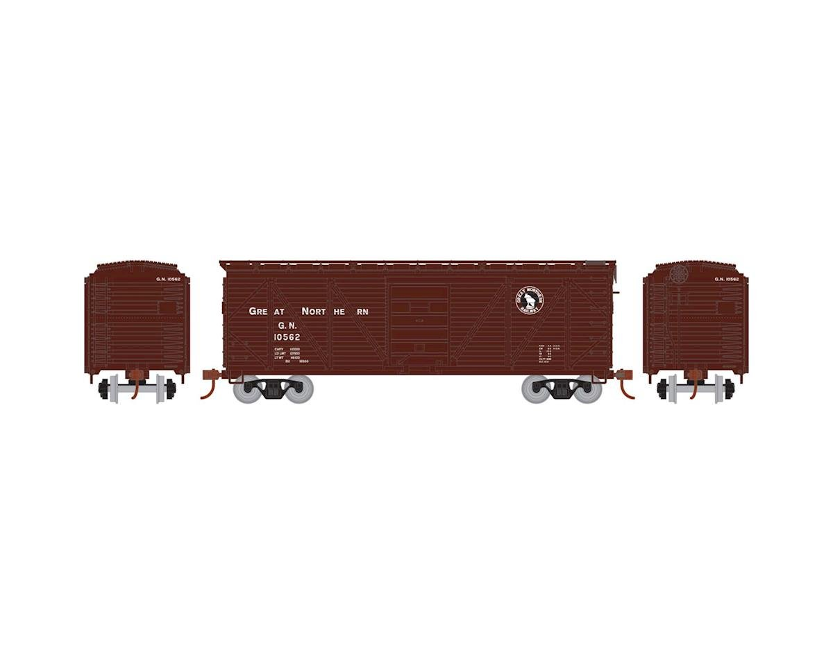 HO 40' Single Sheathed Box, GN #10562 by Roundhouse