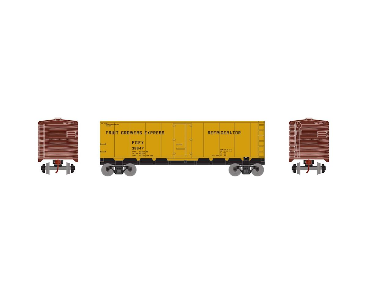 HO 40' Steel Reefer, FGE #38947 by Roundhouse