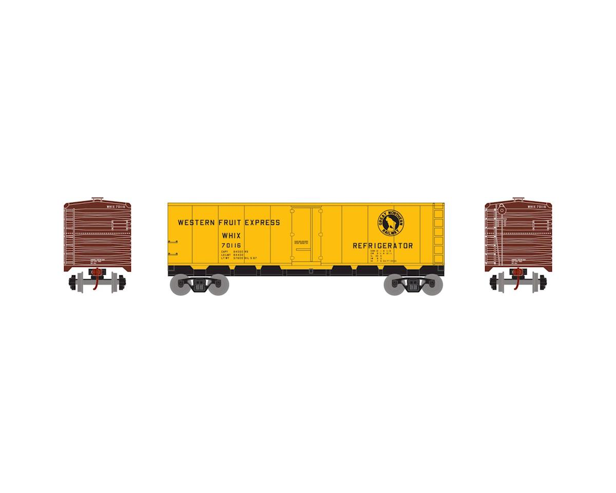 HO 40' Steel Reefer, GN #70116 by Roundhouse