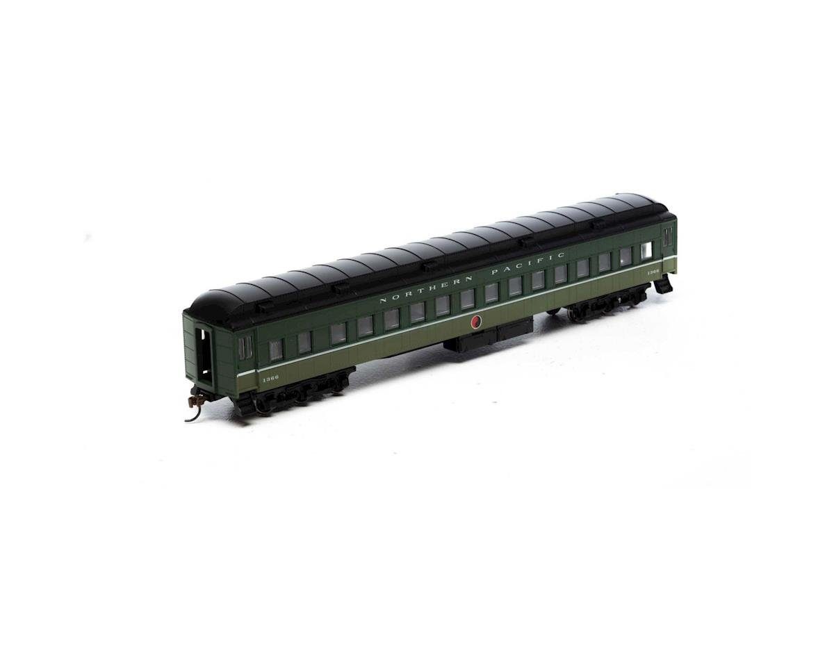 Roundhouse HO Heavyweight Clerestory Coach, NP #1366