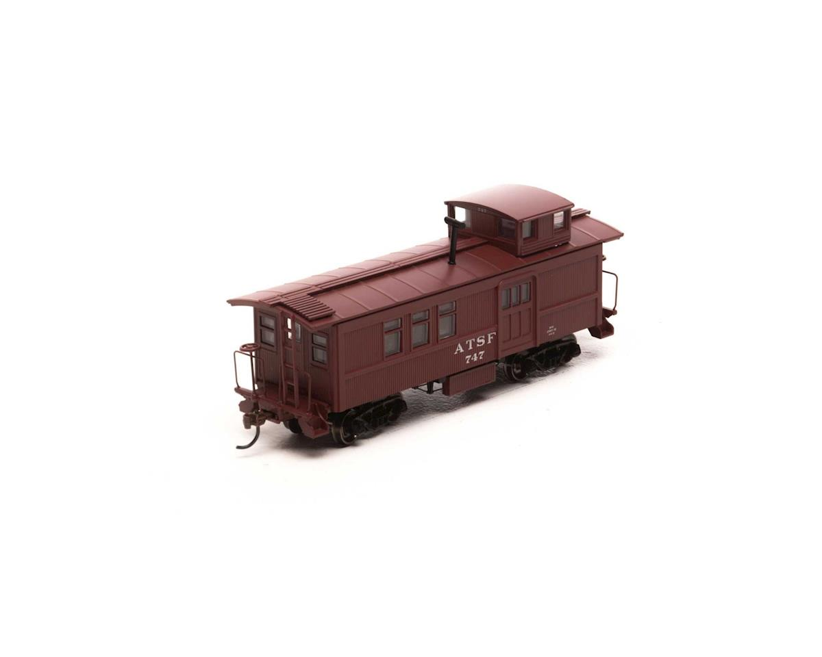 Roundhouse HO Drover's Caboose, SF #747