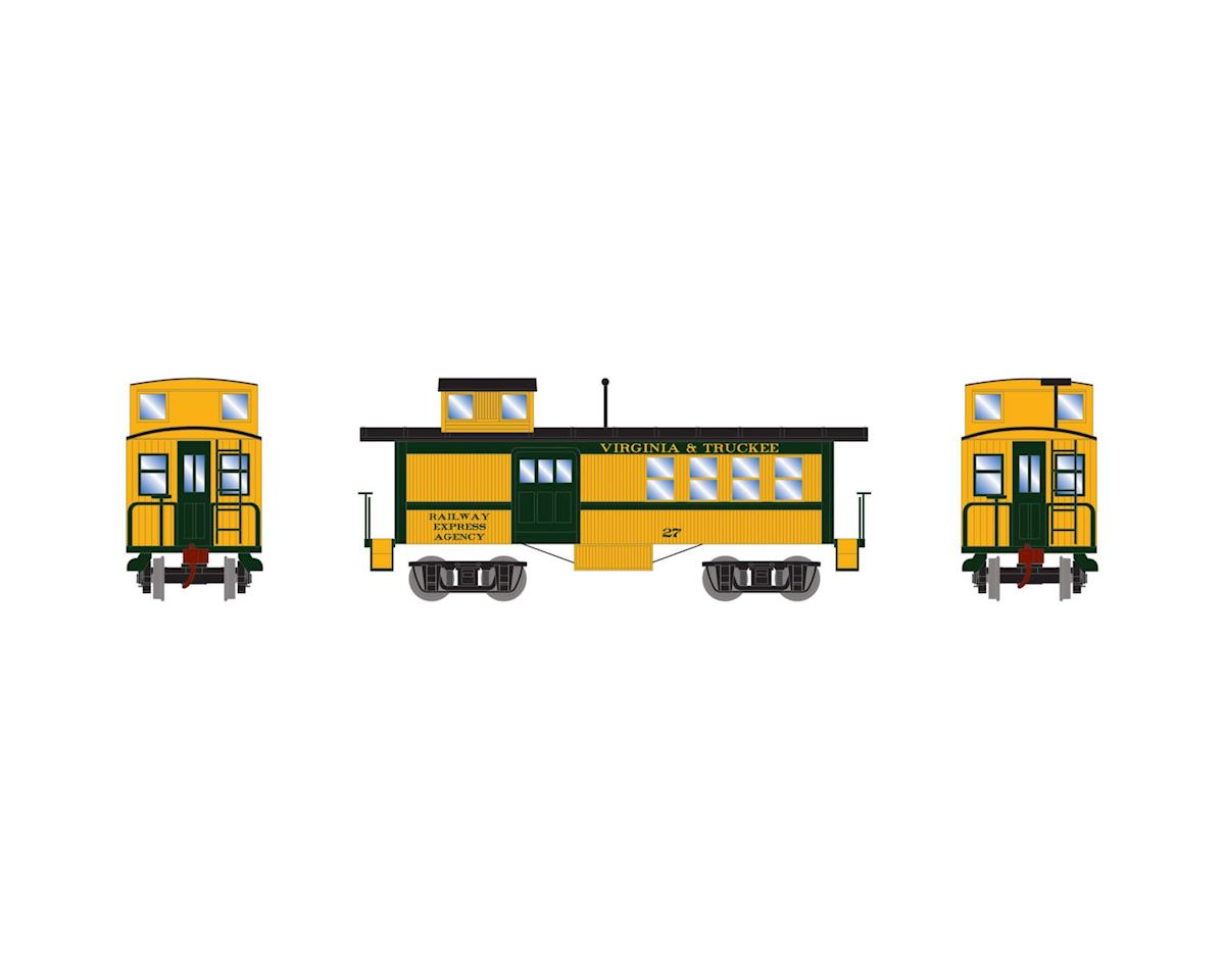 HO Drover's Caboose, V&T #27 by Roundhouse