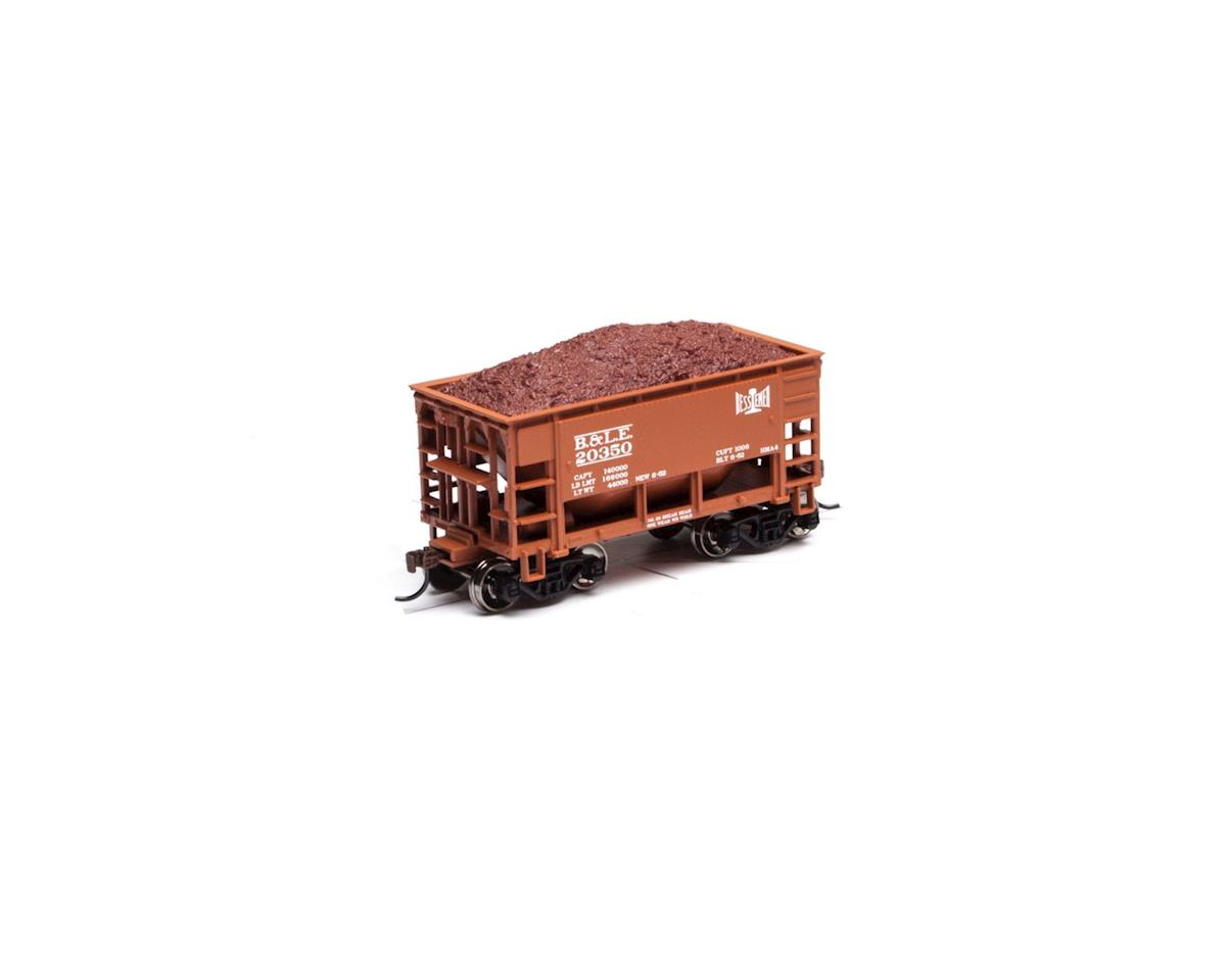 Roundhouse HO 24' Ribbed Ore Car w/Load, B&LE #20350