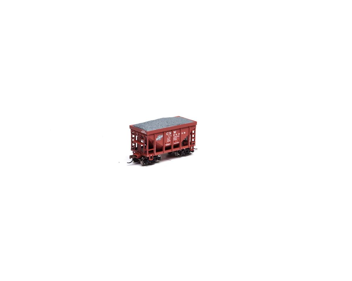 Roundhouse HO 24' Ribbed Ore Car w/Load, C&NW #112408R