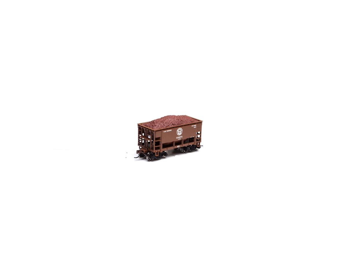 Roundhouse HO 24' Ribbed Ore Car w/Load, DM&IR #33271