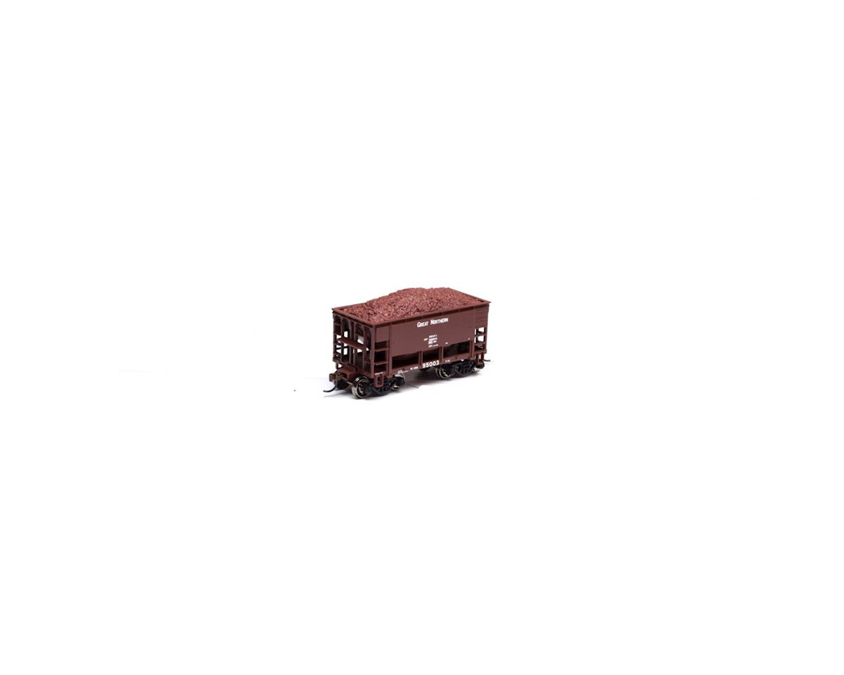 Roundhouse HO 24' Ribbed Ore Car w/Load, GN #95003