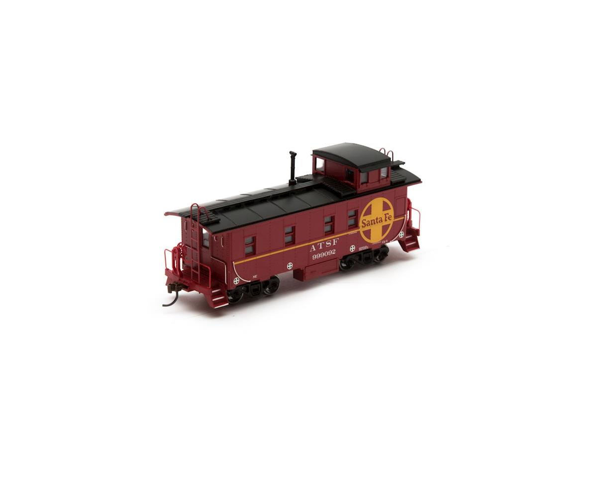 Roundhouse HO Cupola Caboose, SF #999092