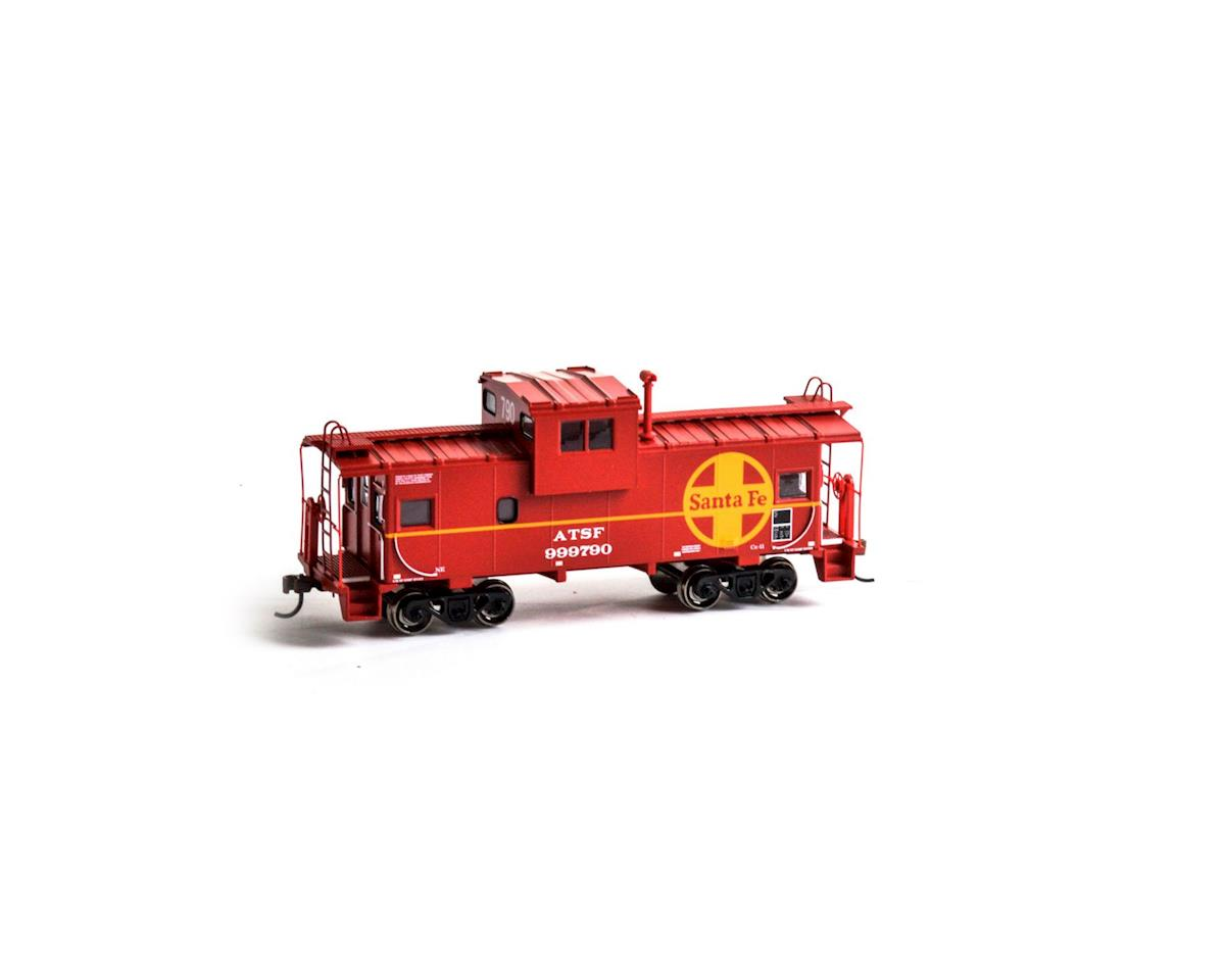 Roundhouse HO Wide Vision Caboose, SF #999790