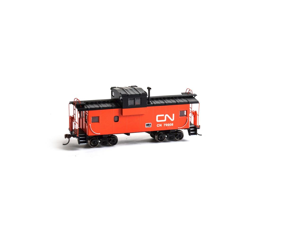 Roundhouse HO Wide Vision Caboose, CN #79908