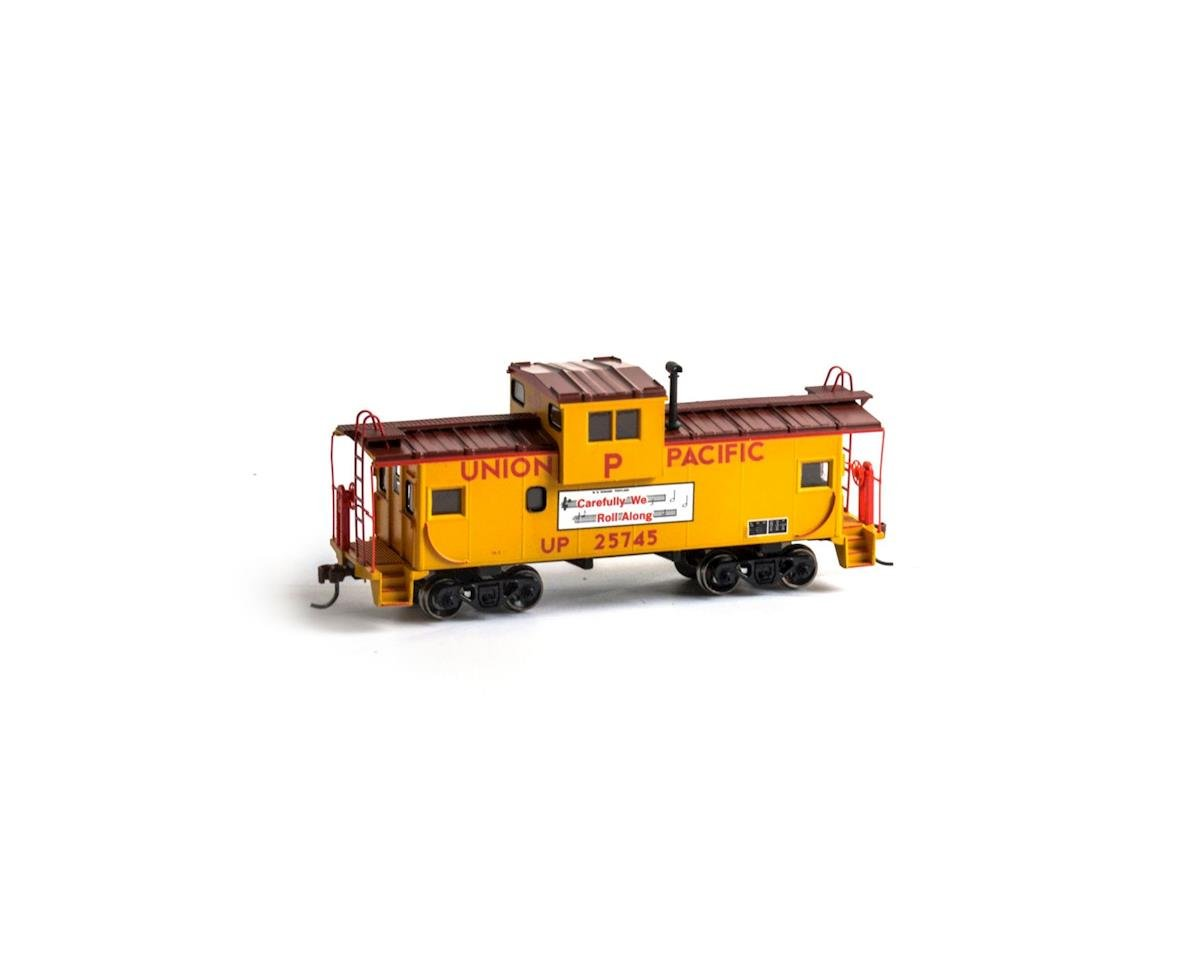 Roundhouse HO Wide Vision Caboose, UP #25745