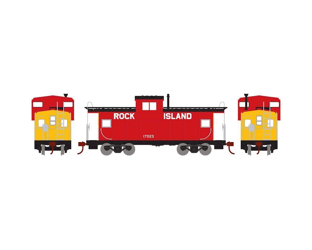 HO Wide Vision Caboose, RI #17023 by Roundhouse
