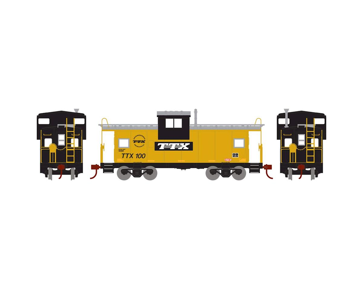 Roundhouse HO Wide Vision Caboose, TTX #100