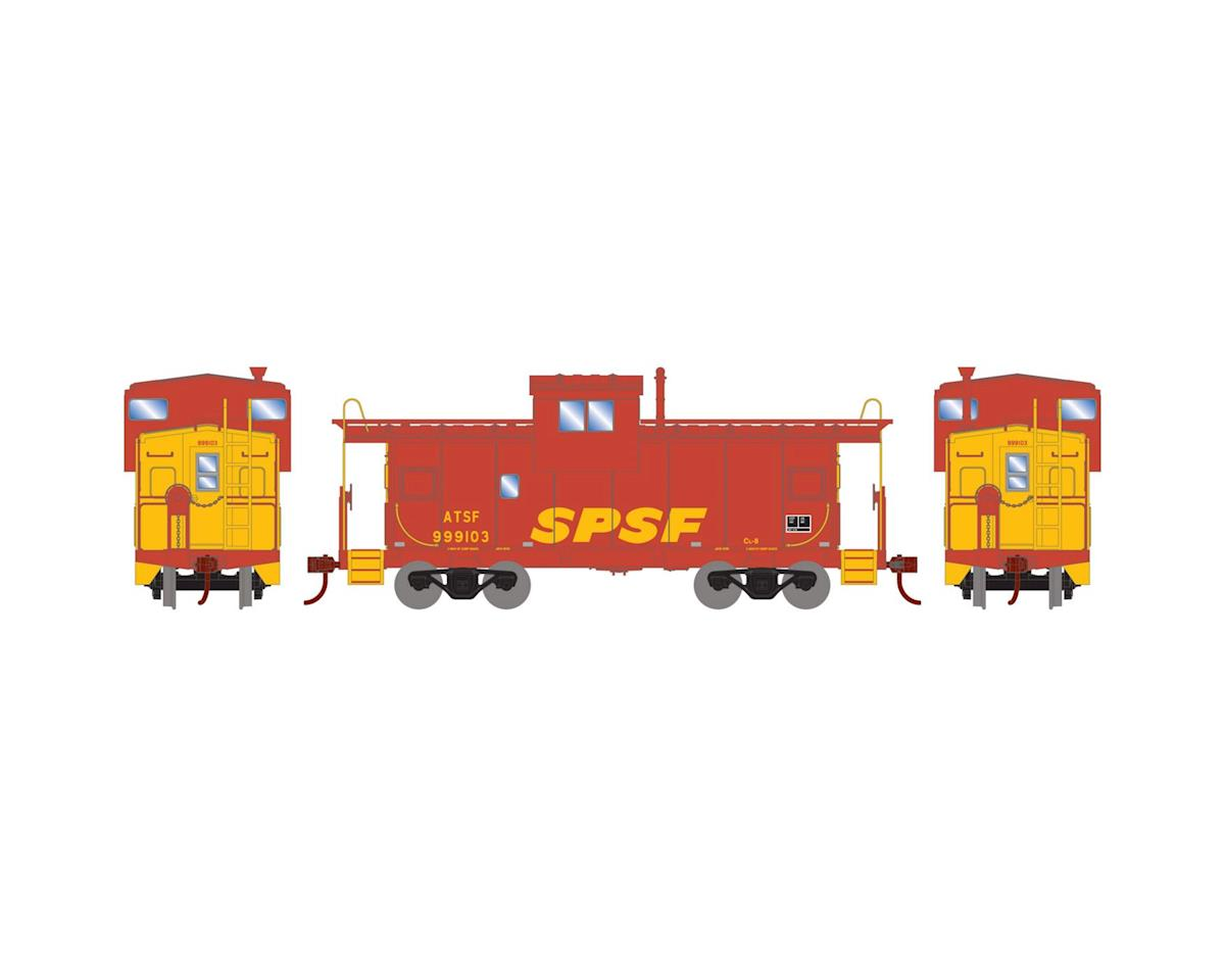 Roundhouse HO Wide Vision Caboose, SPSF #999103