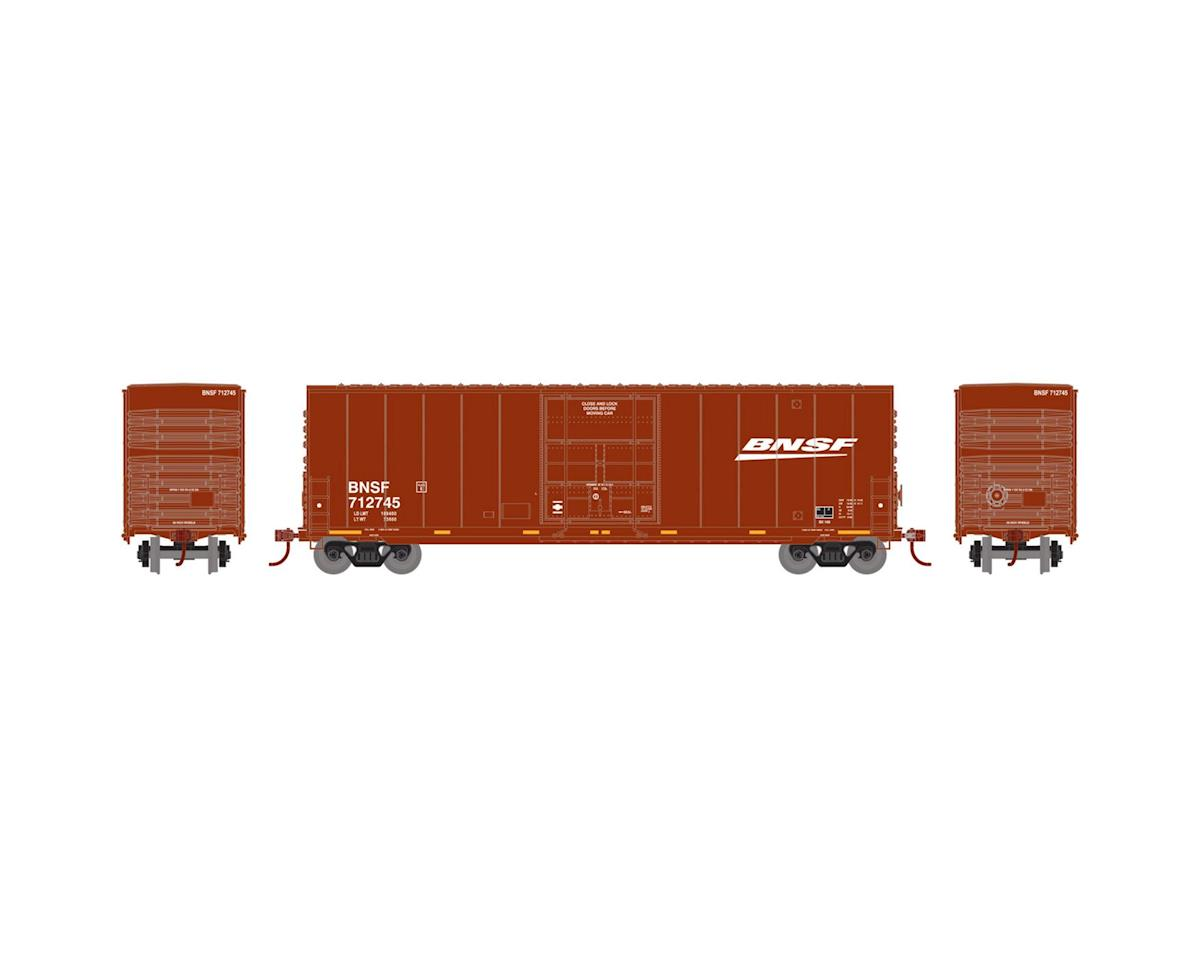 Roundhouse HO 50' Smooth High Cube Plug Door Box,BNSF #712745