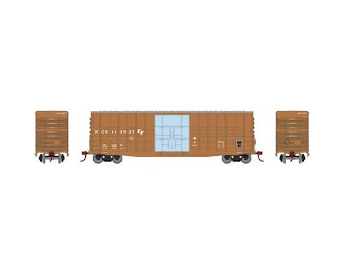 Roundhouse HO 50' Waffle HC Plug Door Box, KCS #113527