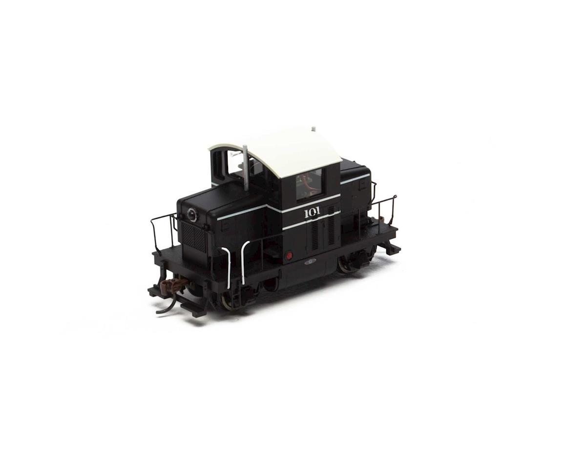 HO EMD Model 40, Black #101