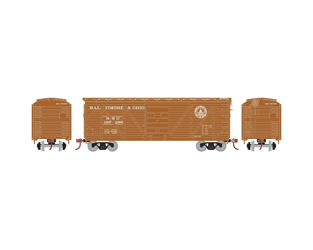 Roundhouse HO 40' Single Sheathed Box, B&O #187286