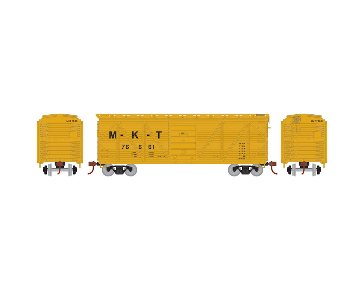 HO 40' Single Sheathed Box, MKT #76661 by Roundhouse