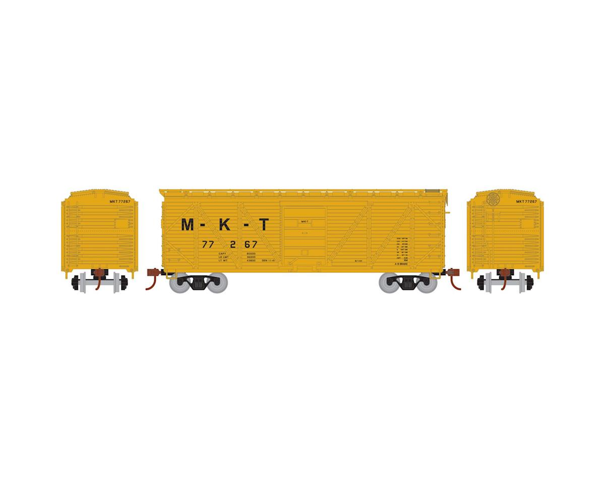 HO 40' Single Sheathed Box, MKT #77267 by Roundhouse