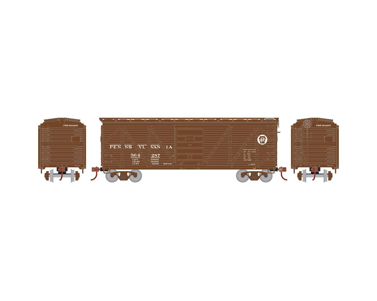 HO 40' Single Sheathed Box, PRR #564287 by Roundhouse