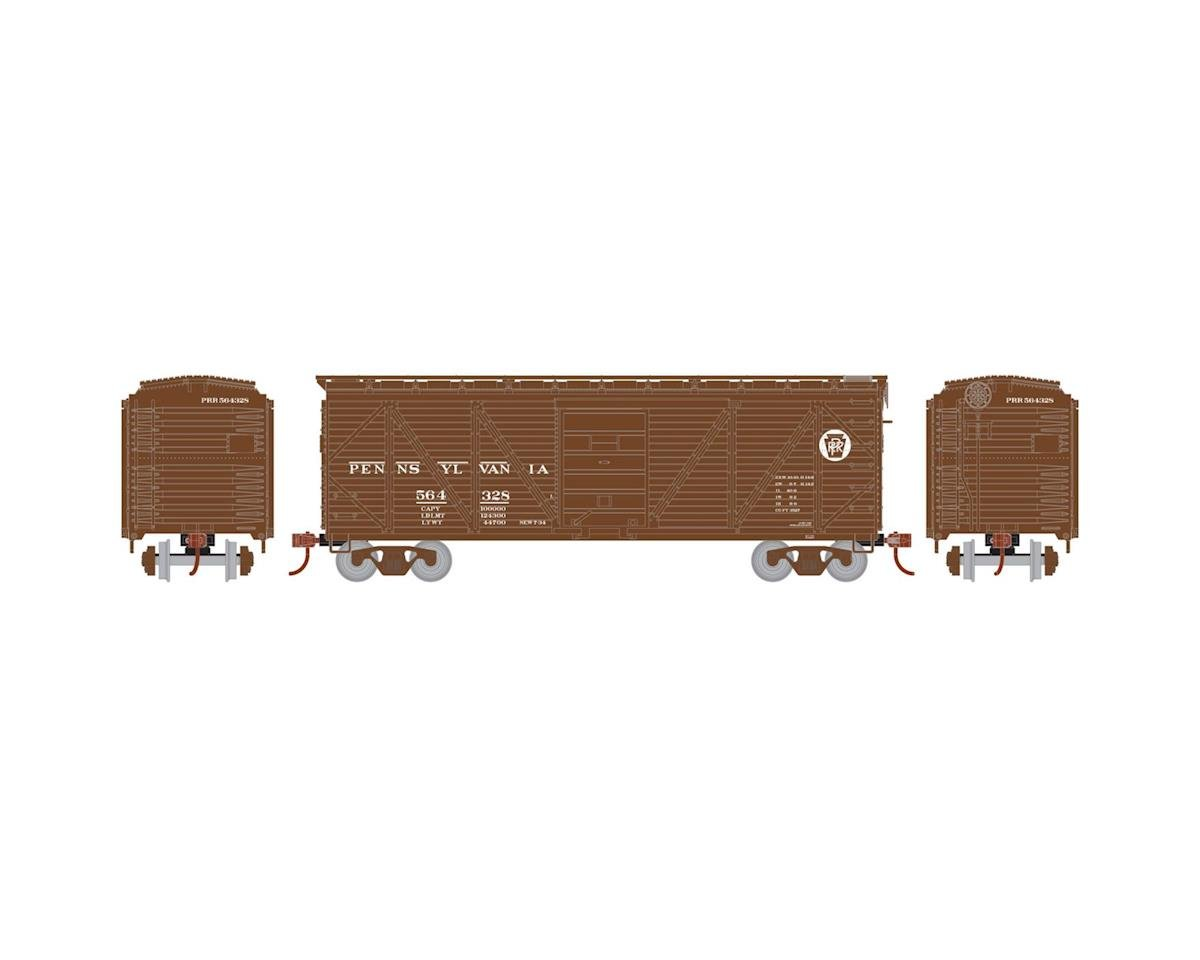Roundhouse HO 40' Single Sheathed Box, PRR #564328