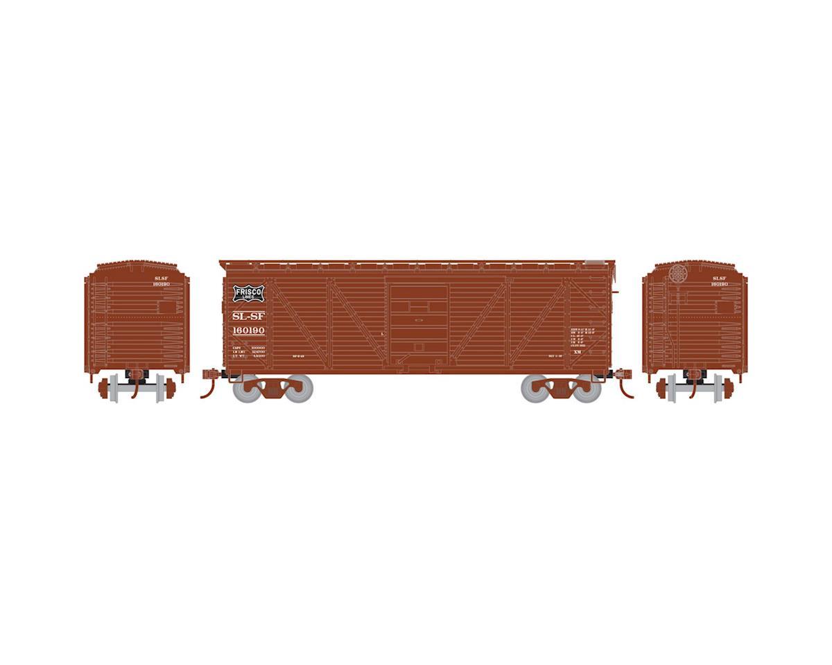 HO 40' Single Sheathed Box, Frisco #160190