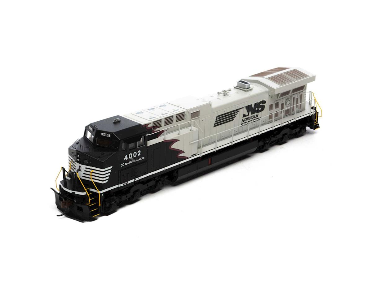 HO AC4400CW, NS/Black & Gray w/Red Stripe #4002 by Roundhouse