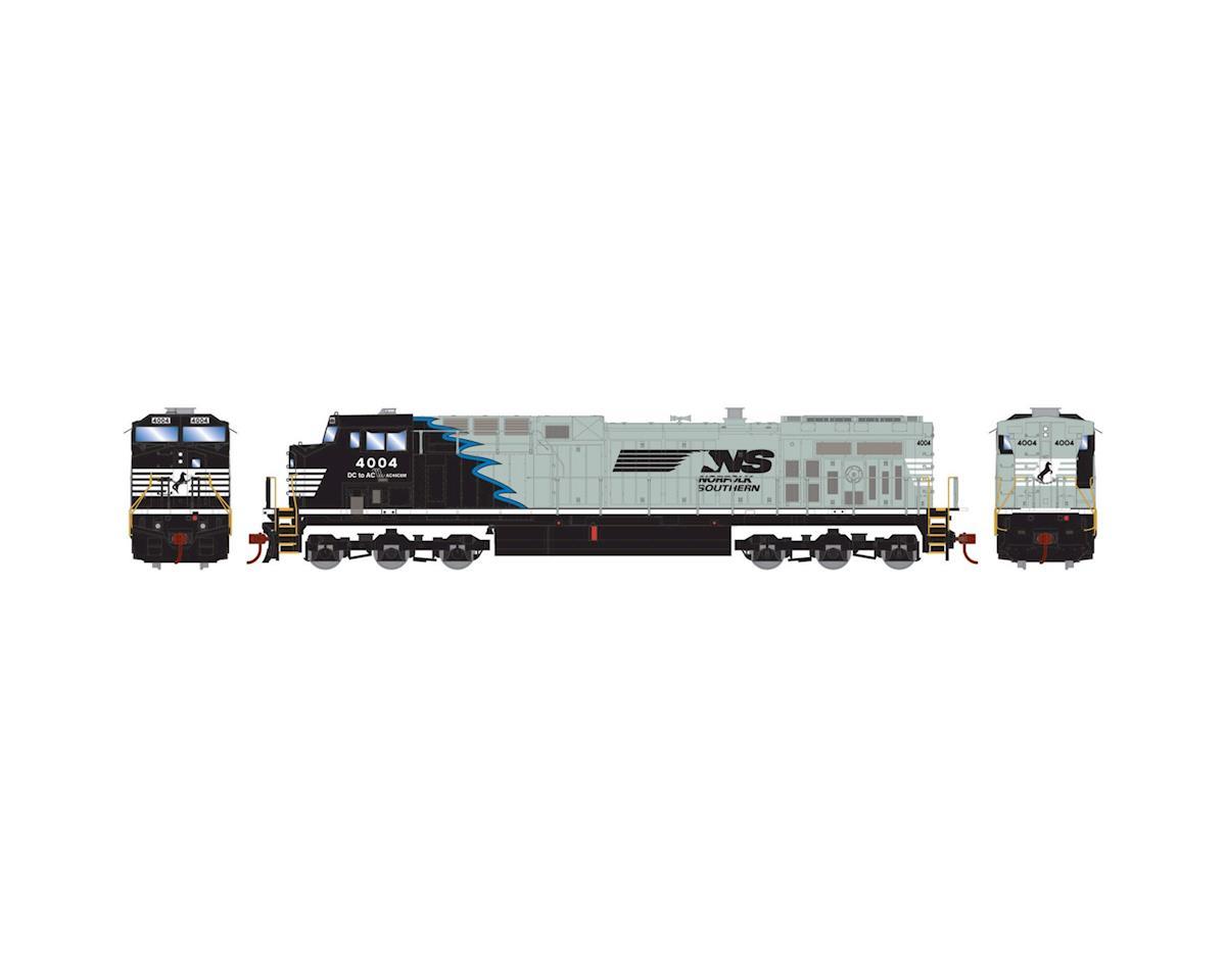 HO AC4400CW, NS/Black & Gray w/Blue Stripe #4004