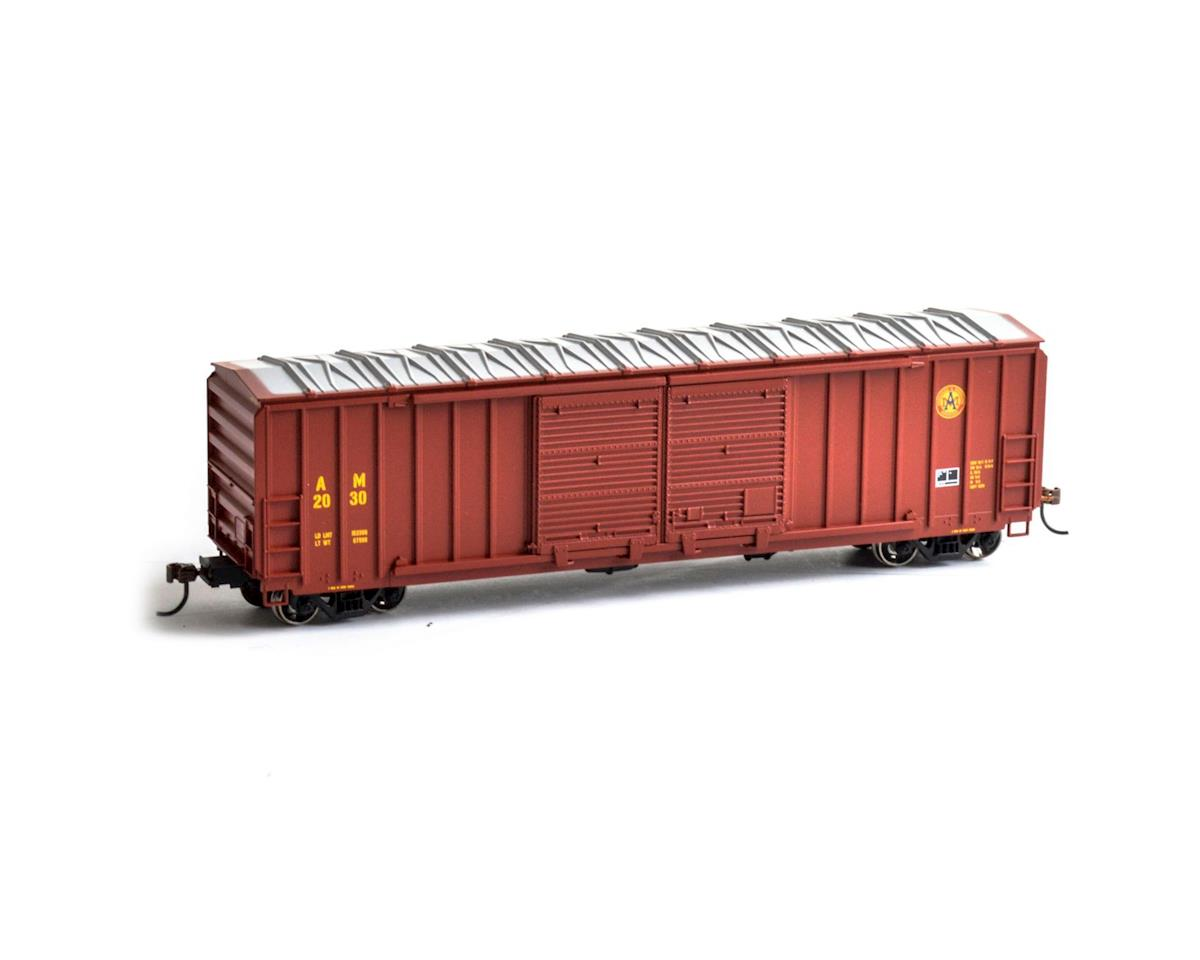 Roundhouse HO 50' FMC 5283 Double Door Box, A&M #2030