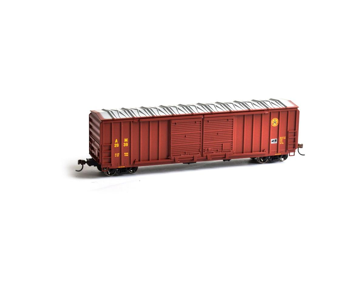 Roundhouse HO 50' FMC 5283 Double Door Box, A&M #2039