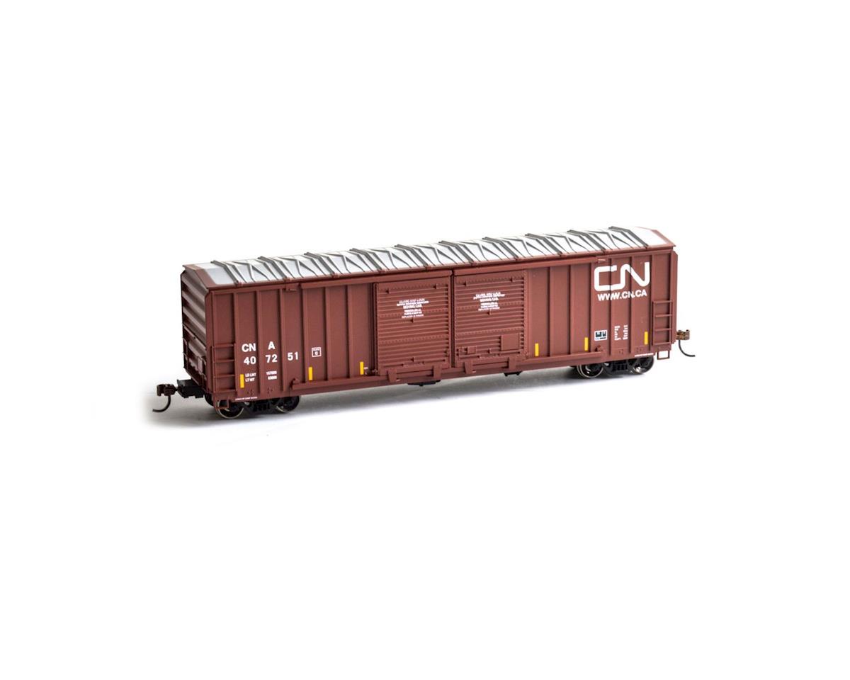 Roundhouse HO 50' FMC 5283 Double Door Box, CN #407251