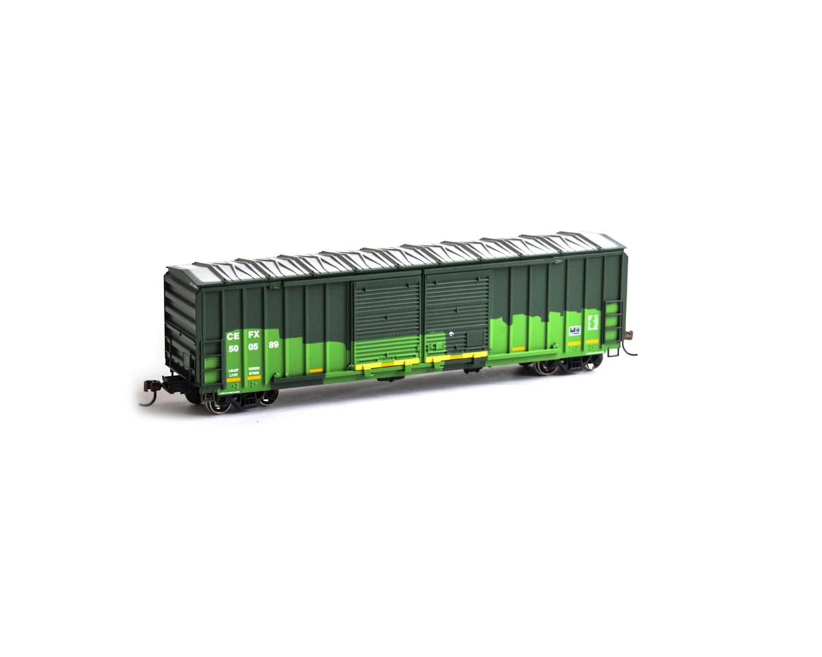 Roundhouse HO 50' FMC 5283 Double Door Box, CEFX #500589