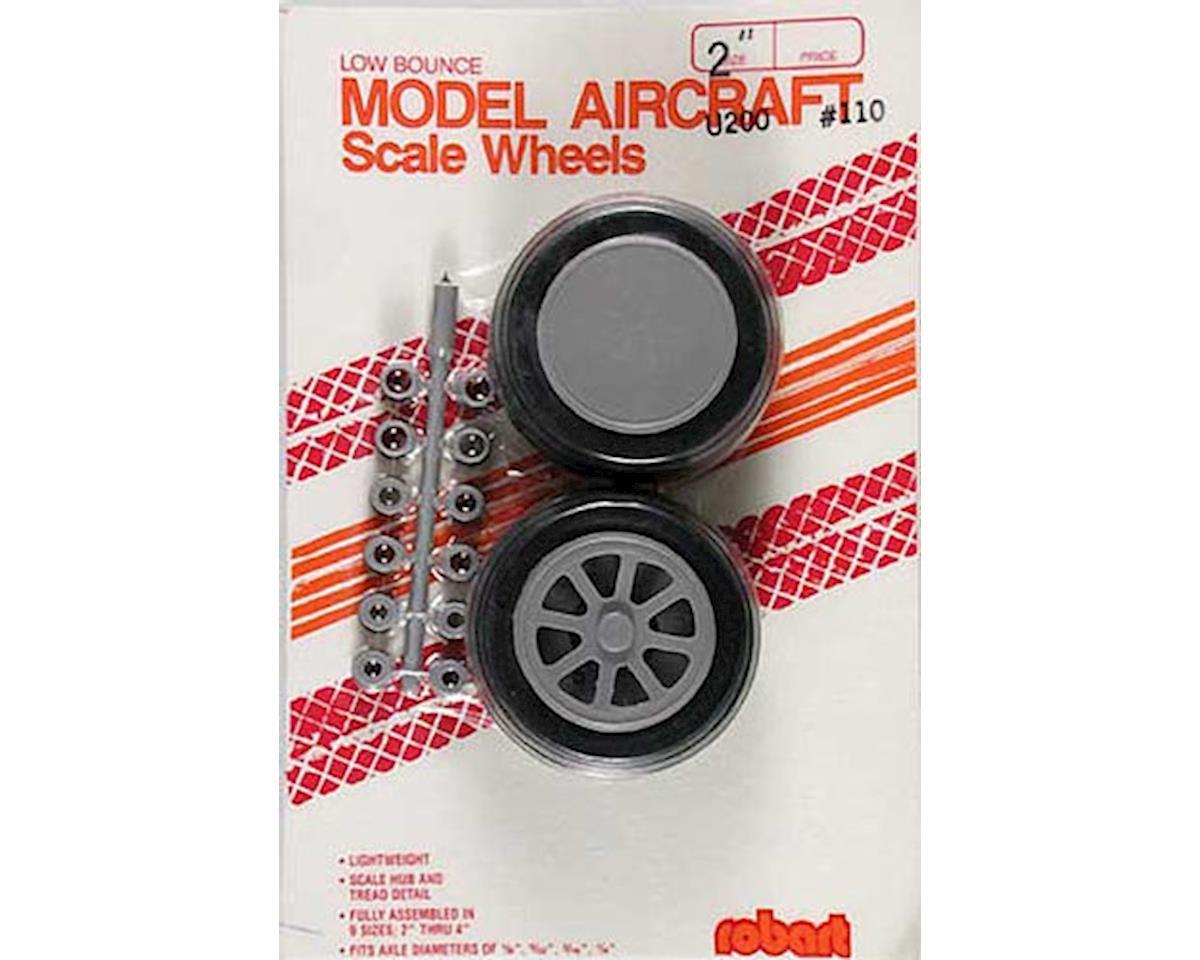 """Robart U-200 Scale Wheels,2"""""""