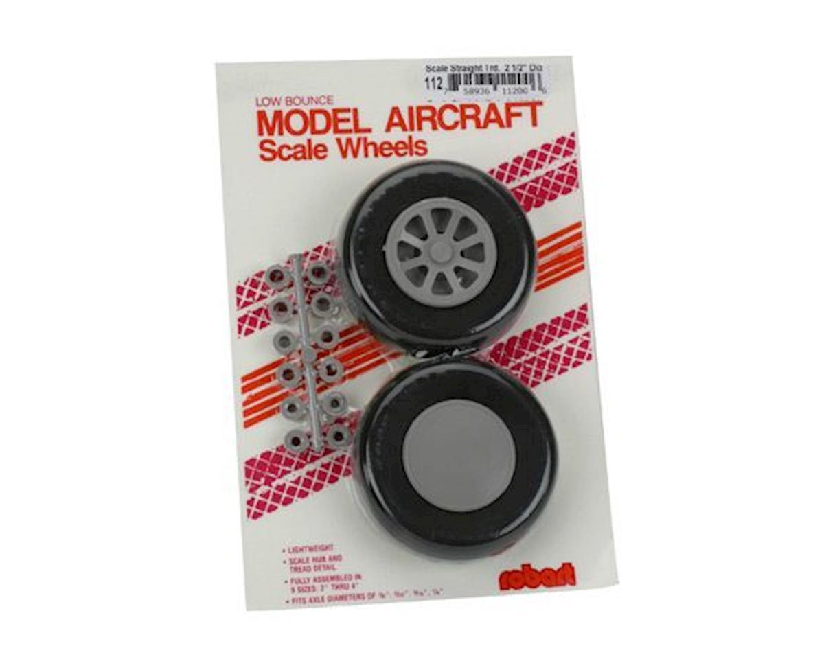 """Robart U-250 Scale Wheels,2-1/2"""""""