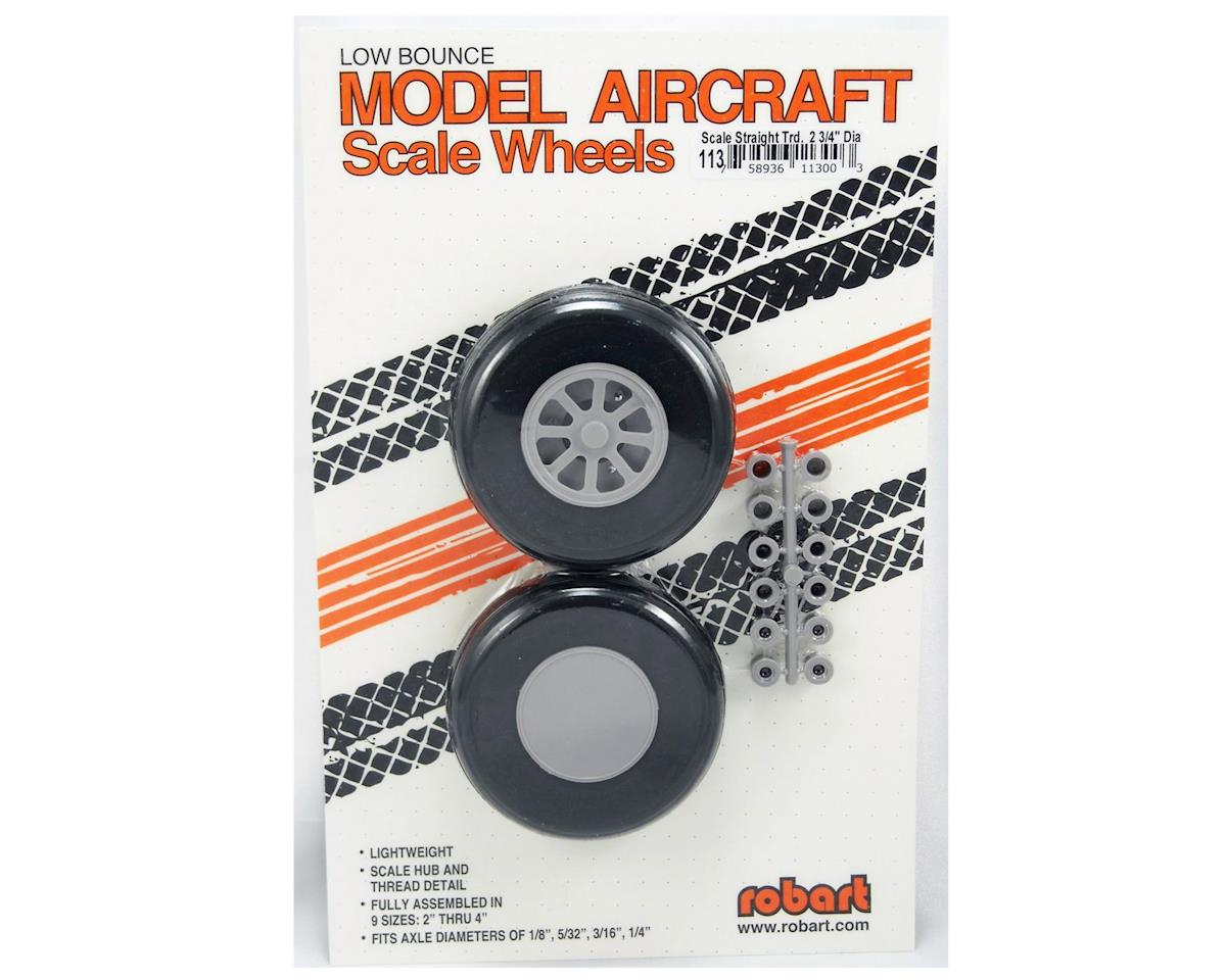 Robart U-275 Scale Wheels,2-3/4""