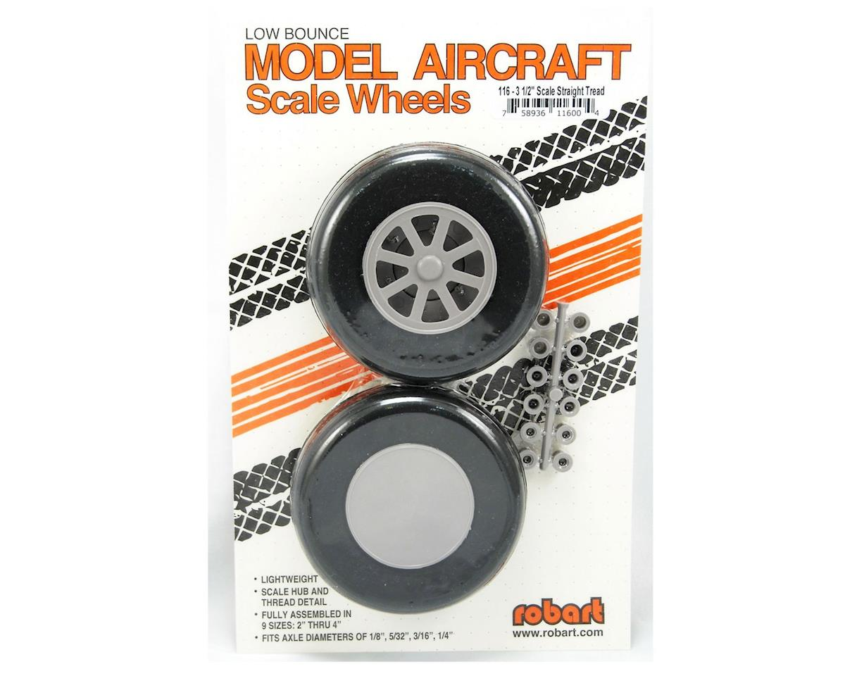 Robart U-350 Scale Wheels,3-1/2""
