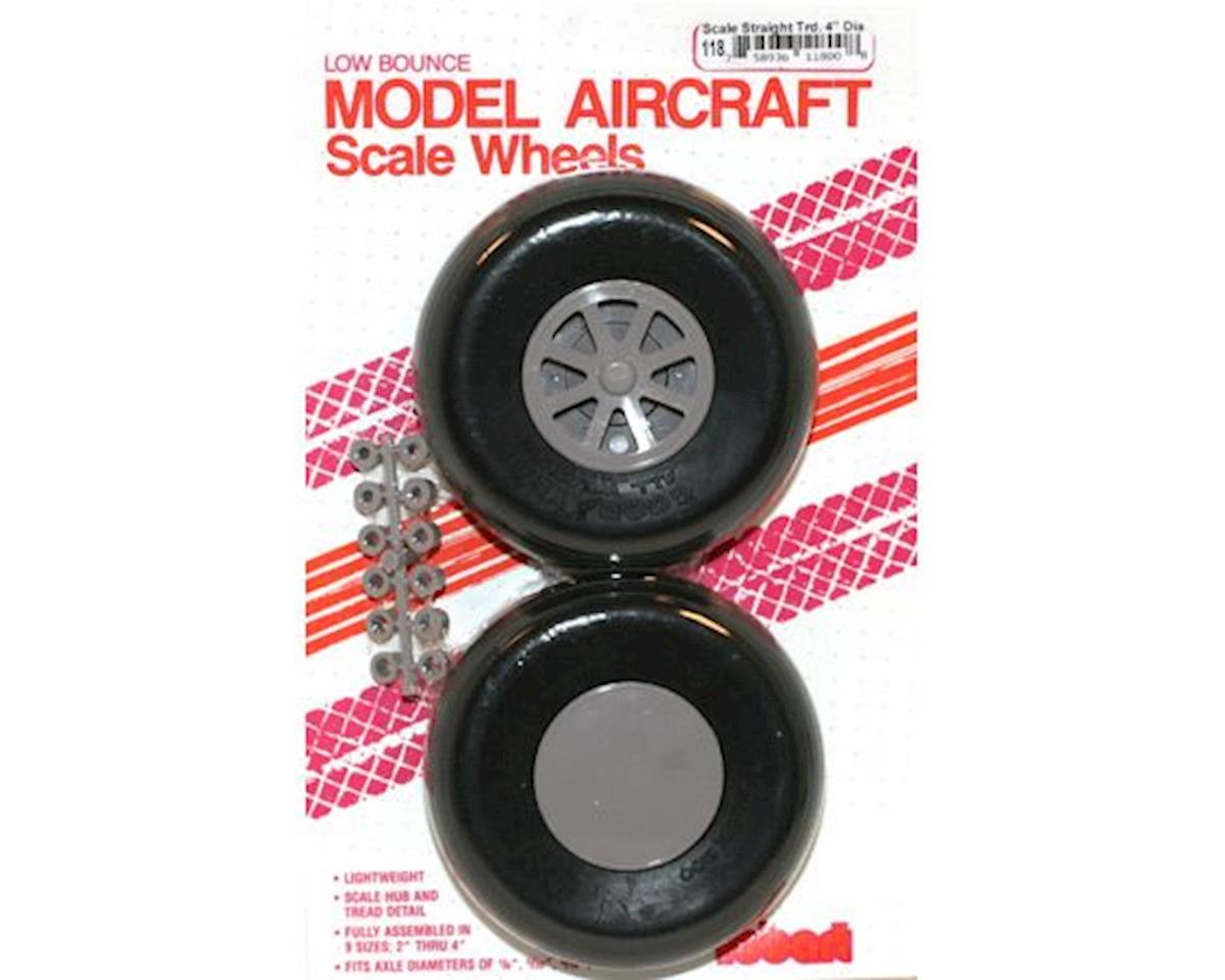 Robart U-400 Scale Wheels,4""