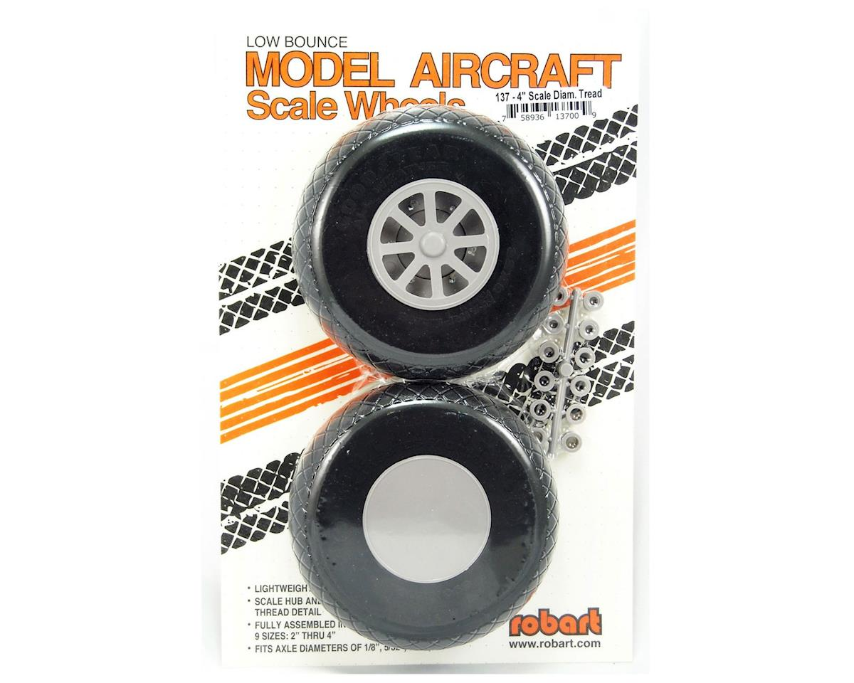 Robart UX400-Scale Diamond Tread Wheels